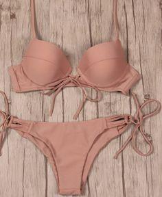 Tied Up Tan Bikini – Girl Heaven