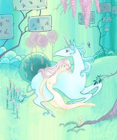 The Last Unicorn by *spicysteweddemon