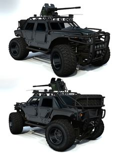 ESCoRT Caiman GMV| 3D Models and 3D Software by Daz 3D