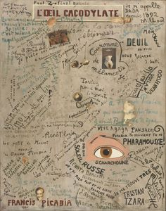 Special Exhibition Image Gallery: Dada at MoMA - Paris: The Cacodylic Eye (L'Oeil cacodylate), 1921
