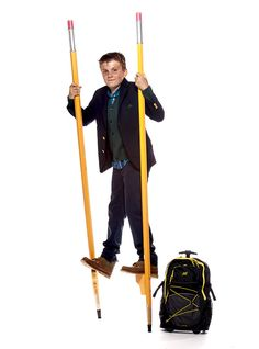 No. 2 Pencil Stilts and The Classic First Day of School