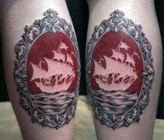 ship cameo by emily pongracz #tattoos
