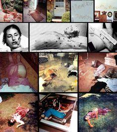 "Charles Manson Crime Scene | violentendencies:Manson Family Crime Scene""I'm the devil, here to ..."