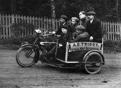 Premier Sidecar Classic Motorcycle Pictures