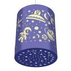 Deze stoere lamp voor echte ruimtereizigers is van het franse merk Djeco. De lamp is gemaakt van papier waaruit ruimteschepen, marsmannetjes en sterren zijn ...