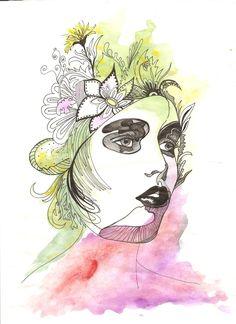 Portrait of a lady, color