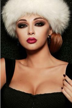 Myriam Fares' fierce look ~ makeup by Patricia Riga