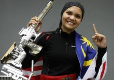 Nur Suryani Mohamed Taibi - Shooting - Malaysia  The Commonwealth Games gold medalist qualified for the 3 position, but as she will be 8 months pregnant, will be unable to lay on her stomach.