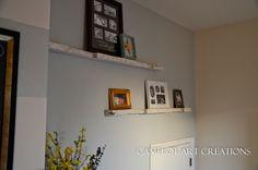 Camelot Art Creations: DIY Pallet Floating Shelves { Tutorial }
