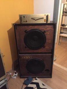 Vintage Bass Verstärker & 2x15er Box: Solton Craaft Bassic 400 in Bayern - Fürstenfeldbruck   Musikinstrumente und Zubehör gebraucht kaufen   eBay Kleinanzeigen