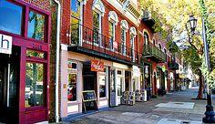 Broad Street in Downtown Augusta, Georgia