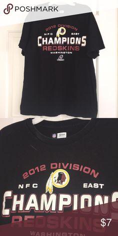 Washington Redskins 2012 NFC East Champions Shirt Worn a few times dbc1f7c39