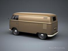 A Garagem Digital de Dan Palatnik   The Digital Garage Project: 1956 Panel Van