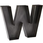 Kids Wall Decor: Metal Hanging Wall Letters in Hanging Décor $34