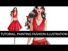 704c44f3ec5 Tutorial  Basic Fashion Illustration in Gouache Watercolor