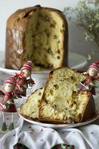 PANETTONE, az olasz karácsonyi kalács My Recipes, Gourmet Recipes, Sweet Recipes, Cake Recipes, Italian Desserts, Fun Desserts, Sweets Cake, Cupcake Cakes, Food Network Recipes