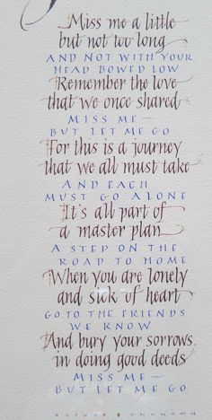 Anne Franke biography and calligraphic paintings, journals, bookmarks, cards, and custom work Spiritual Quotes, Positive Quotes, Mom Quotes, Life Quotes, Grieving Quotes, Funeral Poems, Emerson Quotes, Miss My Mom, Memories Quotes