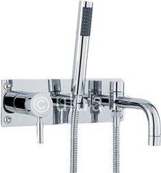 Elite Wall Mounted Bath Shower Mixer Tap + Shower Kit | Pinterest | Bath  Shower Mixer Taps, Shower Mixer Taps And Bath Shower Mixers