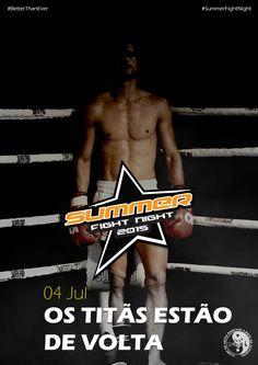 Como já vem sendo tradição, este ano não será excepção. O Summer Fight Night está de regresso a S. Brás de Alportel, para mais uma noite explosiva, onde os Titãs Sambrasenses irão demonstrar a sua raça!
