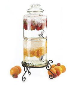 Another great find on #zulily! Dual Stacked Beverage Dispenser by Global Amici #zulilyfinds