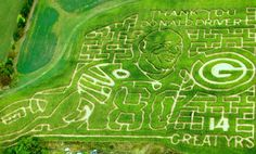 Donald Driver Corn Maze Is Sure to Make Green Bay Packers Fans Smile | Bleacher Report