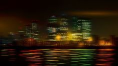 Unique, abstract photo manipulation from part of the London Skyline.