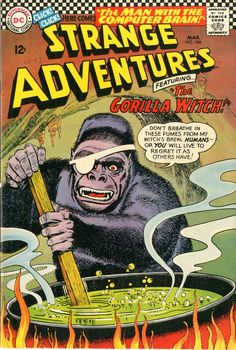 A one eyed gorilla witch!?! Are you kidding me! You had me at gorilla! Where can i find this!