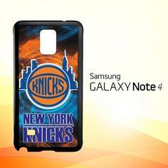 New York Knicks Wallpaper X3289 Samsung Galaxy Note 4 Case