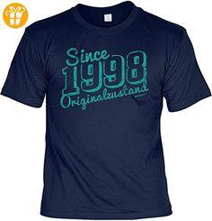 Shirt / Jahrgangs-Geburtstags-Shirt mit lustigem Spruch: Since 1998 Originalzustand geniales Geschenk (*Partner-Link)