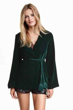 Casaco de veludo | H&M