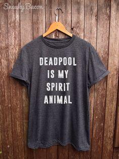 Deadpool Tshirt  deadpool shirts marvel shirts by SneakyBaconTees