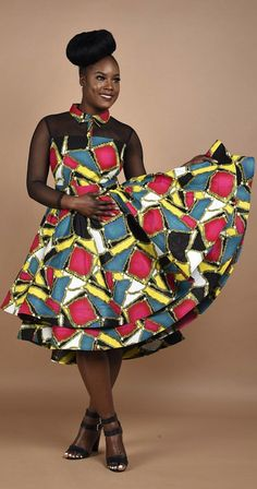 Rahyma Multi-Color Mesh dress. You will fall in love with this Princess dress, carefully Made to perfection. African print Mesh double step dress. Back invisible zipper. Slightly low at the back. Ankara   Dutch wax   Kente   Kitenge   Dashiki   African print bomber jacket   African fashion   Ankara bomber jacket   African prints   Nigerian style   Ghanaian fashion   Senegal fashion   Kenya fashion   Nigerian fashion   Ankara crop top (affiliate)