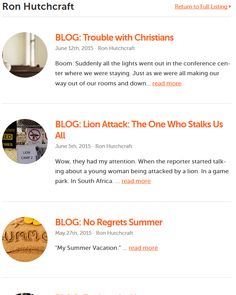 Click here to view Ron Hutchcrafts blog on twr360.org!