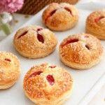 Raspberry and White Chocolate Cream Hand Pie