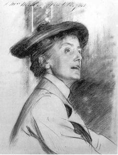 Dame Ethel Smyth - John Singer Sargent