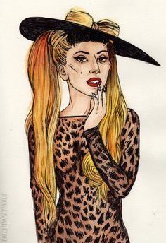 Helen Green – Lady Gaga Government Hooker/ Thierry Mugler