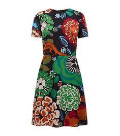 BURBERRY Floral Skater Dress. #burberry #cloth #