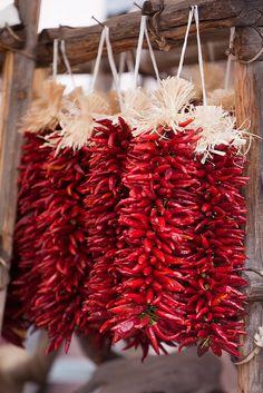 Chilli en mercado mexicano