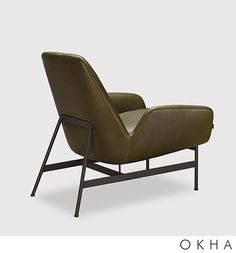 Nicci | OKHA Interiors Steel Furniture, My Furniture, Furniture Design, Furniture Cleaning, Best Chairs Glider, Interior Desing, Accent Chairs For Living Room, Best Sofa, Chair Design