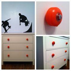skateboard wheel knobs