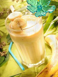 milk shake banane, kiwi et mandarine