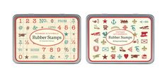 Cavallini & Co. / Rubber Stamp Sets