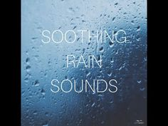 Rain Words, Rain Sounds For Sleeping, Sound Of Rain, 5 Hours, Reduce Stress, Insomnia, Relax, Neon Signs, Exercise