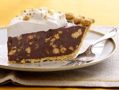 Get the recipe for Dark Chocolate-Walnut Caramel Pie