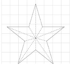 How to make a Christmas star: cositasconmesh Como hacer una estrella navideña : cositasconmesh How to make a Christmas star: cositasconmesh Christmas Classroom Door, Noel Christmas, Christmas Crafts, Christmas Decorations, Star Template, Diy And Crafts, Paper Crafts, Star Diy, Tin Art