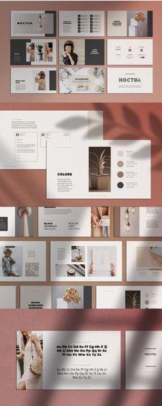 Noctua PowerPoint Presentation Template Simple Powerpoint Templates, Powerpoint Presentation Slides, Presentation Design Template, Presentation Layout, Business Presentation, Keynote Template, Product Presentation, Memphis Design, Corporate Design