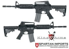 King Arms GHK Colt M4 RIS GBBR Available