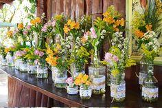 Casamento em Pirenópolis Maio/2015 - arranjos flores