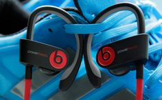Powerbeats2 are Beats by Dre's first wireless earbuds | By James Trew June 12, 2014 :: There may have been some big changes at Beats recently, but it's still all about the headphones. The newest addition to the (ever growing) family is the Powerbeats².