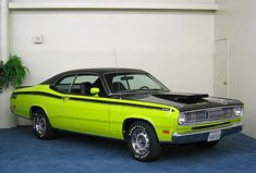 green 1972 plymouth duster | 1971 Plymouth Duster 340